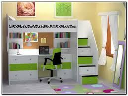 Bunk Bed With Desk Underneath Plans Fascinating Kids Bunk Beds With Desk Underneath 69 With Additional