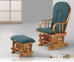 Country Oak Glider Rocker Ottoman Rocking Chairs Coaster 4543
