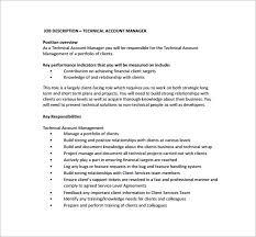 10 account manager job description templates u2013 free sample