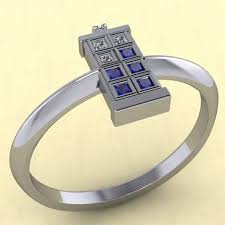 doctor who engagement ring a custom line of doctor who tardis jewelry made with precious