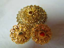 beautiful gold earrings beautiful gold filigree clip earrings and matching brooch gold
