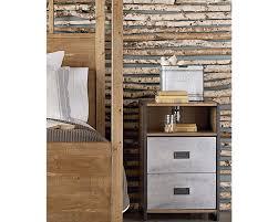 nightstands narrow nightstand rustic wood nightstands vintage