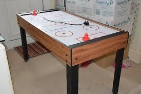 large multi game table multi game play table football pool table tennis hockey 12 00