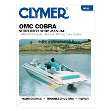 omc marine engine 1986 1993 cobra sterndrive motor repair manual