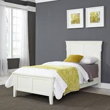 Twin Bed Hillsdale Furniture Gavin White Twin Bed Frame 1755 330 The Home