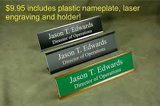 Office Desk Name Plate Personalised Home Décor Desk Name Plates Ebay