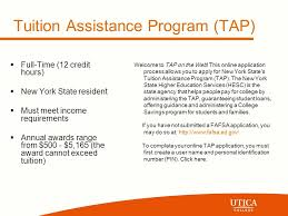 financial aid information session application process how