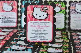 hello kitty zebra cheetah leopard invitations jingvitations