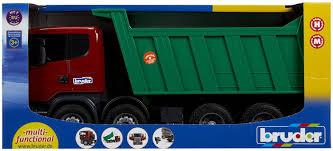 bruder garbage truck amazon com bruder scania r series dump truck toys u0026 games