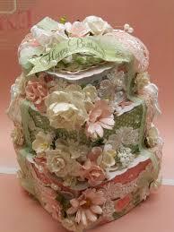 scrapdaworld shabby chic birthday cake wild orchid crafts