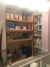 will i be able to replace a mirror door in my bathroom medicine