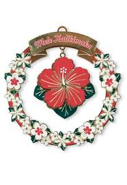 hawaiian decorations and ornaments