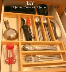kitchen drawer organizer ideas utensil drawer organizer expandable bamboo utensil cutlery and