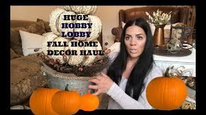 huge hobby lobby fall farmhouse inspired home decor youtube