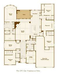 family home plan new home plan 291 in prosper tx 75078