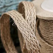 jute ribbon braided jute ribbon ribbon and trims craft supplies