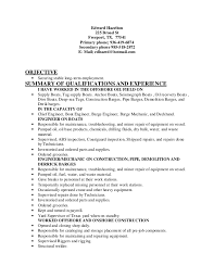 Administrative Resume Objective Examples by Offshore Resume Objective Contegri Com