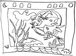children will draw fall halloween for october classes rockland