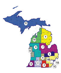 area code map of michigan mdhhs mi choice waiver program