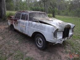 classic mercedes sedan w111 mercedes 220 fintail sedan ratrod parts car in qld