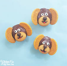 easy dog cupcakes kitchen fun with my 3 sons
