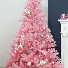 pink artificial tree