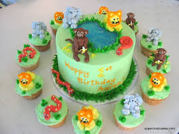 jungle animals cake decorations meknun com