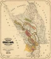california map napa napa county 1876 california historical atlas