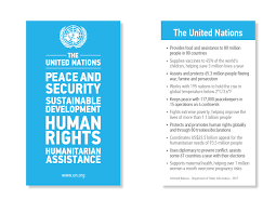 2017 un card united nations