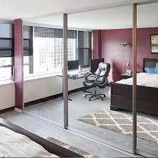 Sliding Glass Mirrored Closet Doors Sliding Glass Mirrored Closet Doors Creative Mirror Shower