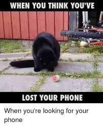 Lost Phone Meme - when you think you ve lost your phone when you re looking for your
