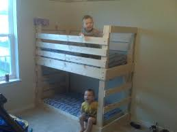 Bunk Bed Free Toddler Bunk Bed Plan Madebyni Co