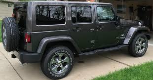 jeep sahara 2017 4 door 2017 jeep wrangler unlimited sahara sport utility 4 door granite
