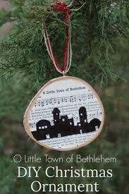o town of bethlehem ornament diy ornaments