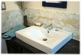 Bathroom Backsplash Tile Decorative Ceramic Tile Custom Hand Made Tropical Fish Tile