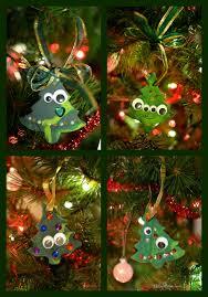 tree clay ornaments