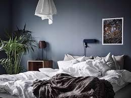 Schlafzimmer Farbe Gr Blaue Wandgestaltung Bilder U0026 Ideen Couchstyle Braune