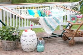 World Market Outdoor Pillows by Home Tropical Backyard Hammock Retreat Lauren Mcbride