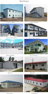 china cheap container house with steel base for staff