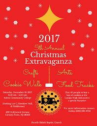2017 5th annual christmas extravaganza crafts arts cookie walk