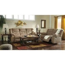 tulen mocha reclining living room set signature design furniture