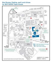 Uh Manoa Map 2017 Soest Open House Soest