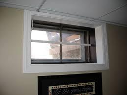 basement basement window treatments ideas jeffsbakery basement
