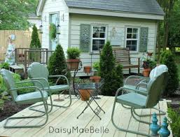 how to paint vintage metal chairs hometalk