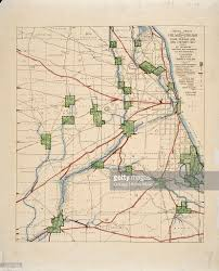 Chicago Illinois Map by Map Of American Indian Trails And Villages Pictures Getty Images
