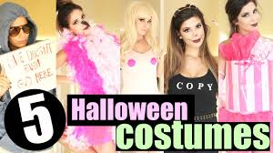 diy last minute halloween costume ideas 2015 youtube