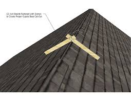 Cupola Size Rule Of Thumb Cupola Installation Instructions How To Install Cupola
