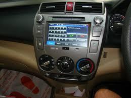 car models com honda city honda city a close look at the factory fitted audio video