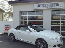 matte black bentley convertible bentley continental gtc full front clear car bra xpel ultimate st