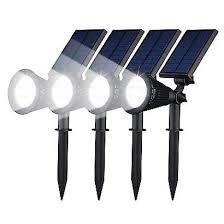 geeek spotlight solar led garden lights 4 pieces geeektech